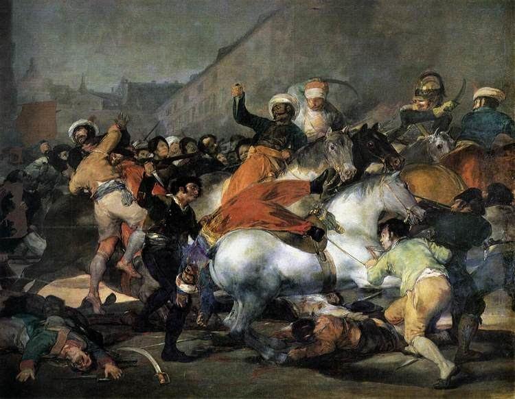 The Second of May 1808 wwwwgahuartggoya7713goyajpg