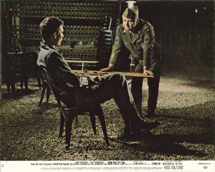 The Sergeant (1968 film) Daily Grindhouse JOHN FLYNN RETROSPECTIVE THE SERGEANT 1968