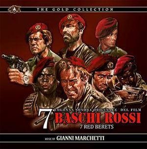 The Seven Red Berets SEVEN RED BERETS MOVIE MUSIC INTERNATIONAL MMI formely Movie