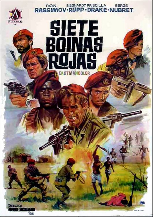 The Seven Red Berets SEVEN RED BERETS Ivan Rassimov LBX for sale