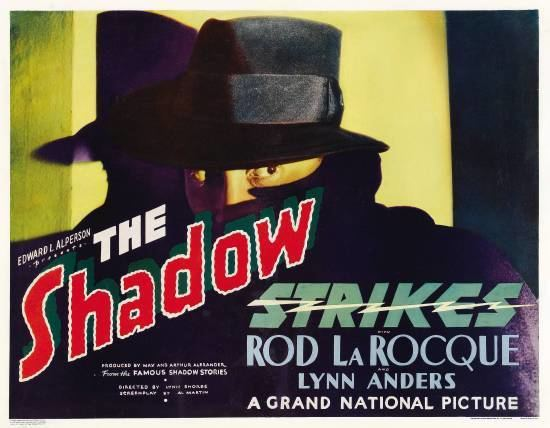The Shadow Strikes Davy Crocketts Almanack of Mystery Adventure and The Wild West