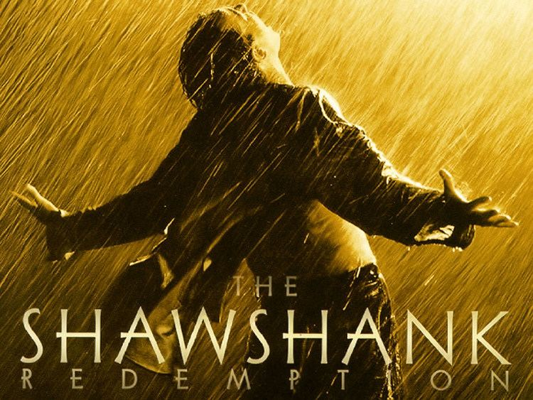 The Shawshank Redemption movie scenes The Shawshank Redemption is a 1994 American drama film written and directed by Frank Darabont and starring Tim Robbins and Morgan Freeman