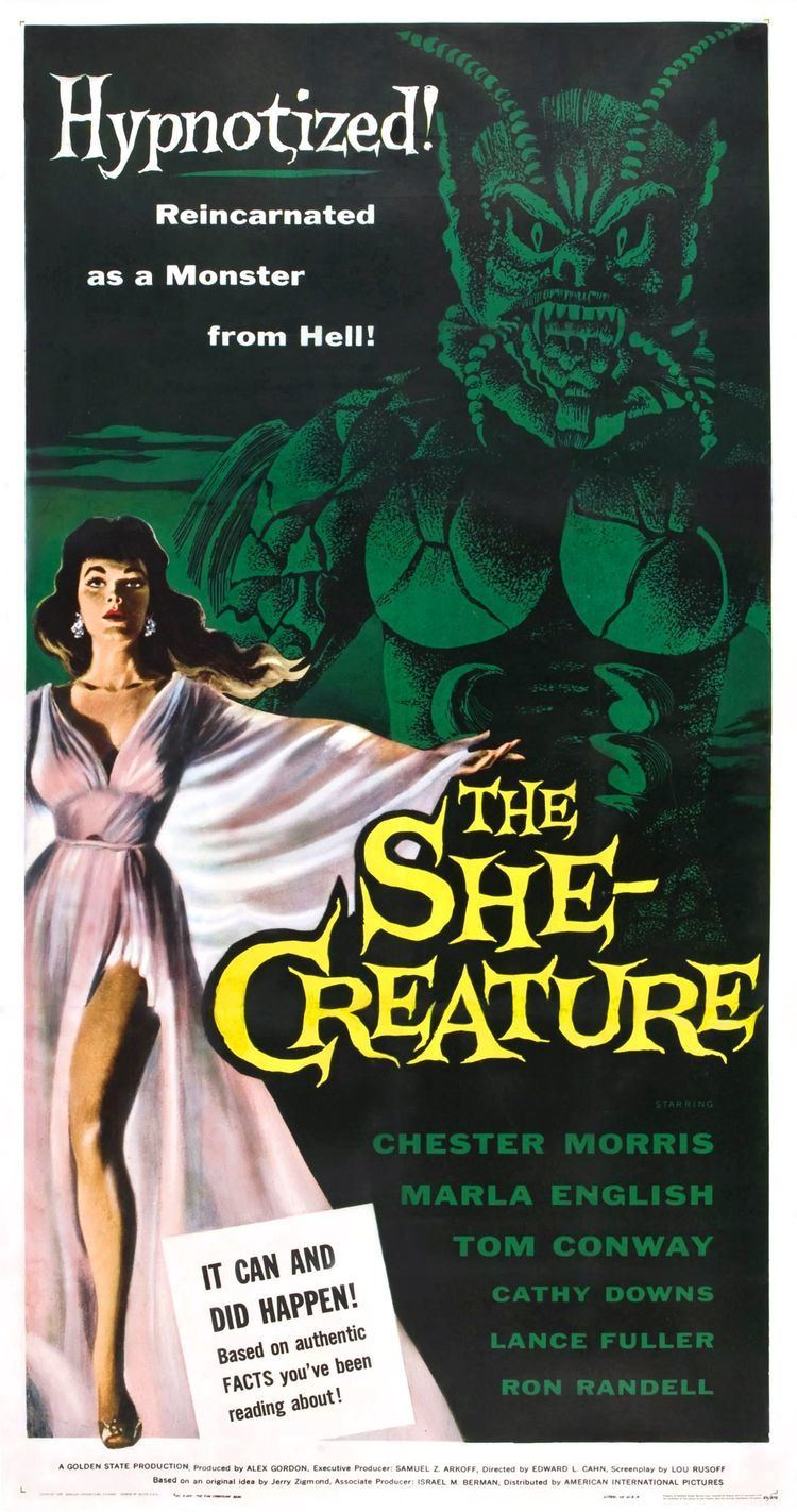 The She-Creature Poster for The SheCreature 1956 USA Wrong Side of the Art