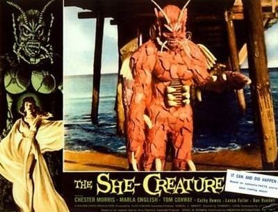 The She-Creature THE SHECREATURE1956EDWARD L CAHN THE URANIUM CAFE