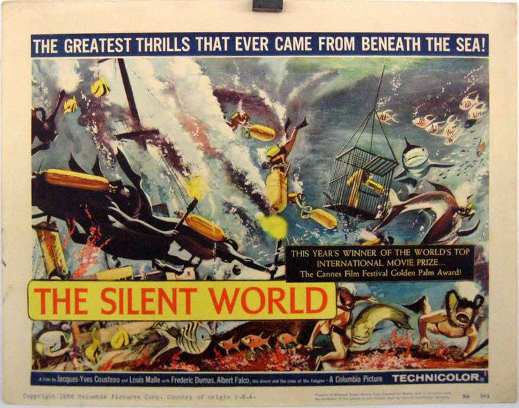 The Silent World THE SILENT WORLD MOVIE POSTER LE MONDE DU SILENCE MOVIE POSTER