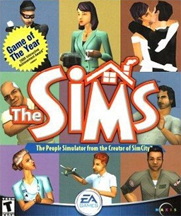 The Sims (video game) movie poster