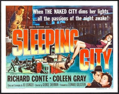The Sleeping City Thrilling Days of Yesteryear Buried Treasures The Sleeping City 1950
