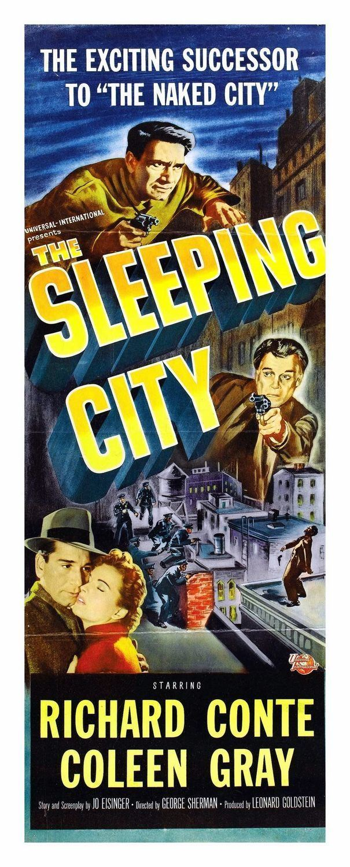 The Sleeping City The Sleeping City 2 of 2 Extra Large Movie Poster Image IMP Awards
