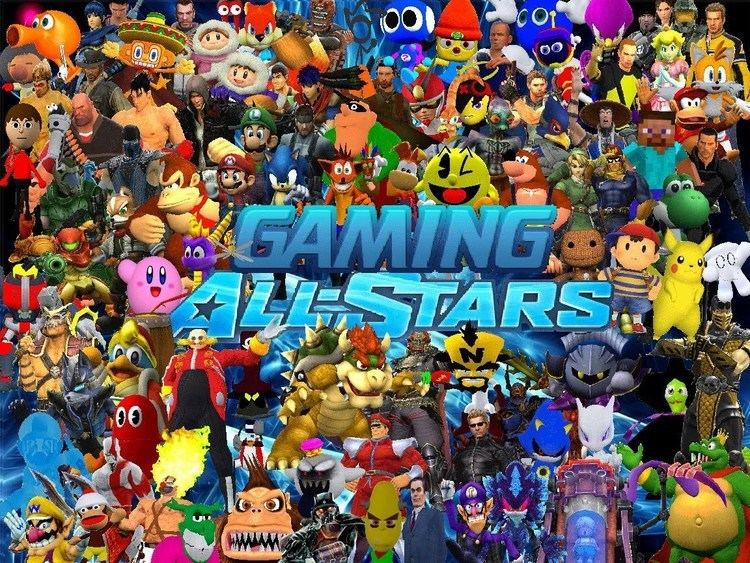 The Smash Brothers movie scenes Gaming All Stars The Ultimate Crossover Part 1 Fan Movie