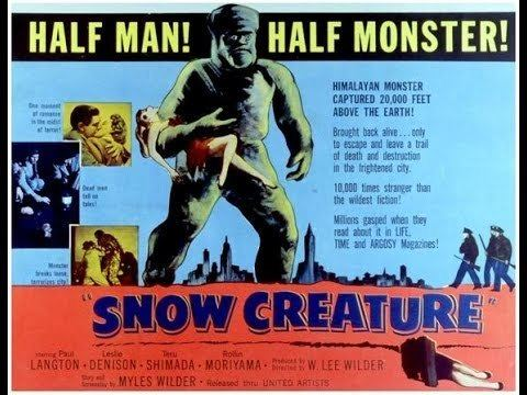 The Snow Creature The Snow Creature 1954 Full Film YouTube