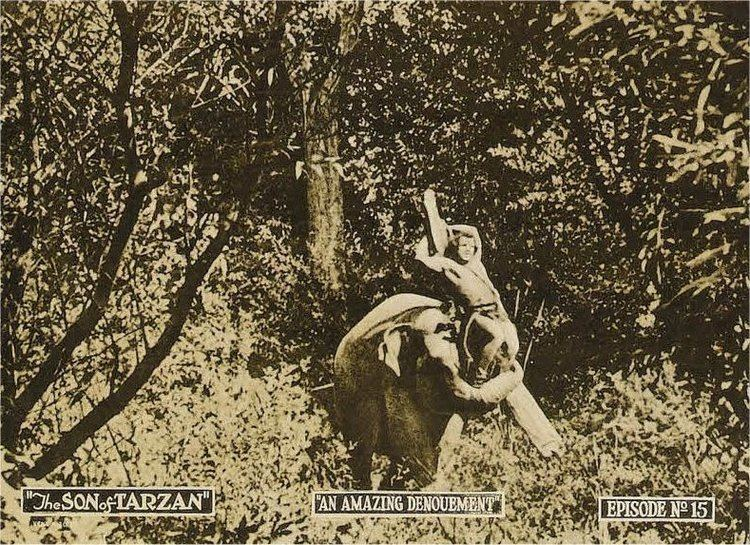 The Son of Tarzan (film) ERBzine 0589 Son of Tarzan