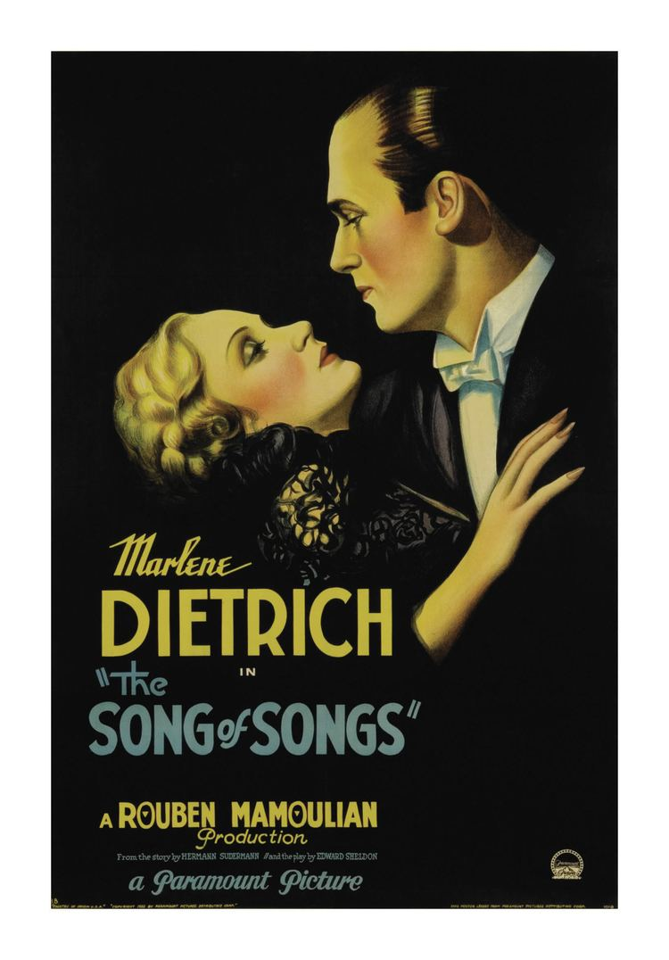 The Song of Songs (1933 film) The Song of Songs 1933 Movie classics