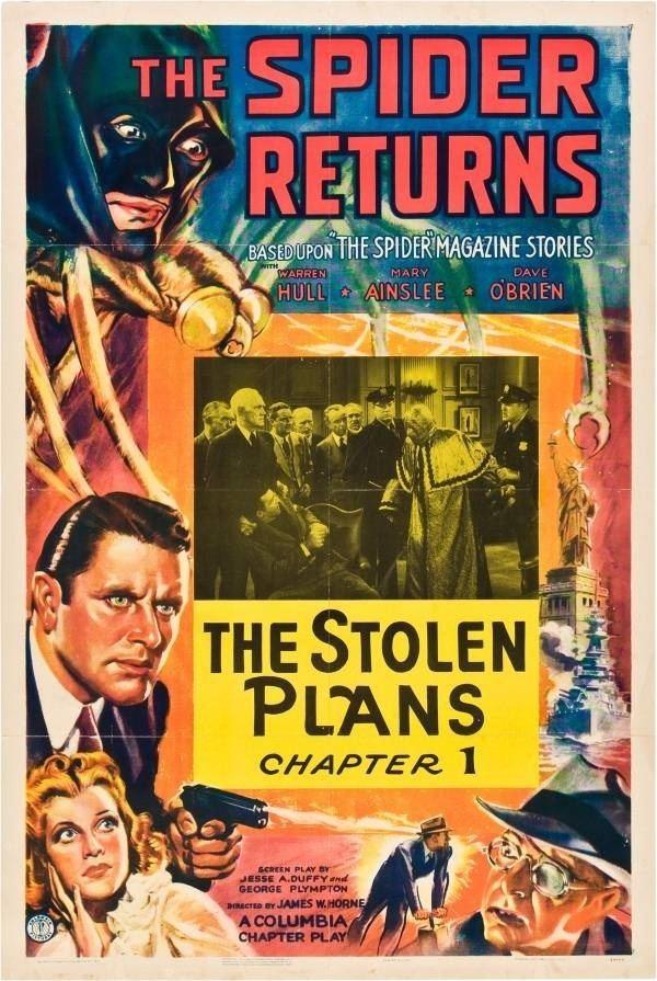 The Spider (1940 film) The Spider Returns 1940 Cliffhanger Serials Pinterest Spider