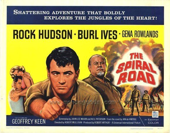 The Spiral Road Movie Poster Collection The Spiral Road The Rock Hudson Project