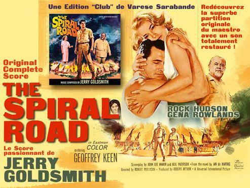 The Spiral Road The Spiral Road Film 1962 Un bon Goldsmith des dbuts