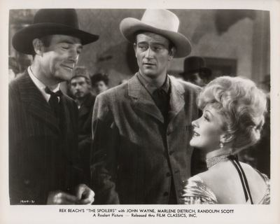 The Spoilers (1942 film) Buddies in the Saddle The Spoilers 1942
