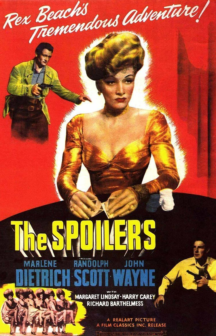 The Spoilers (1942 film) The Spoilers 1942 Poster 1 Trailer Addict