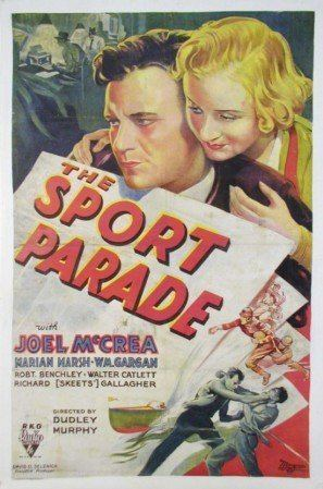 The Sport Parade The Sport Parade 1932 The Blonde at the Film