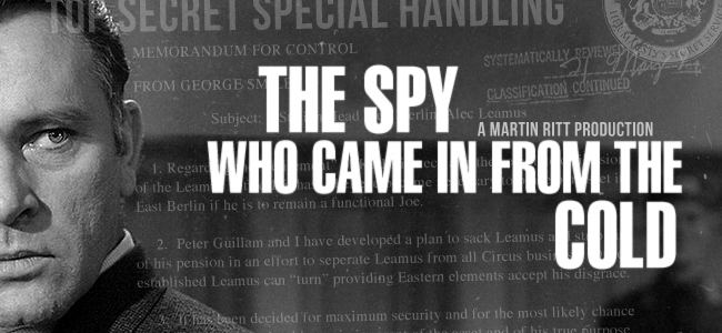 The Spy Who Came in from the Cold (film) Tuesday Editors Pick The Spy Who Came in from the Cold 1965
