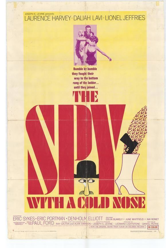 The Spy with a Cold Nose Spy with a Cold Nose Movie Posters From Movie Poster Shop