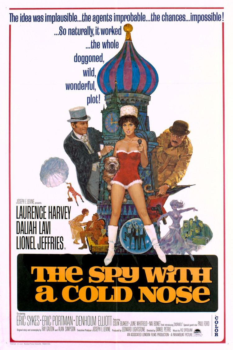 The Spy with a Cold Nose wwwgstaticcomtvthumbmovieposters2581p2581p