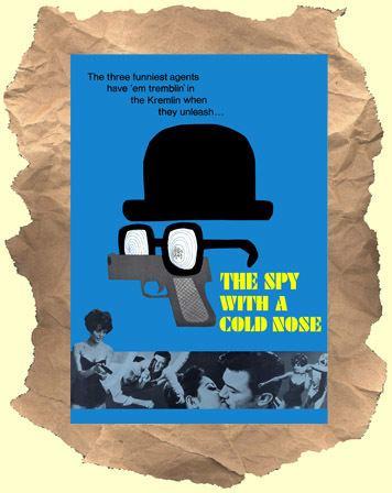 The Spy with a Cold Nose SPY WITH A COLD NOSE Buy it on DVD British spy spoof Laurence Harvey