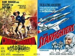 The Starfighters Adventure Sci Fi and Fantasy Movie Posters