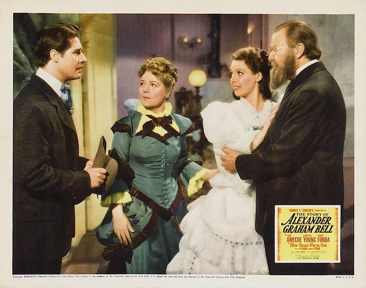 The Story of Alexander Graham Bell Ameche Young and Fonda tell The Story of Alexander Graham Bell