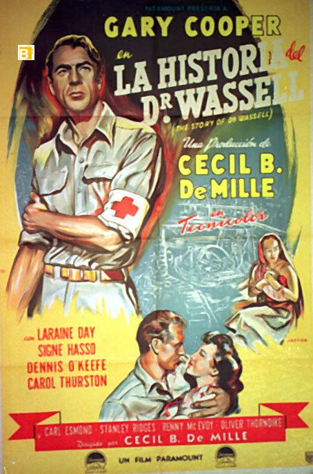 The Story of Dr. Wassell STORIA DEL DOTTOR WASSELL LA MOVIE POSTER THE STORY OF DR