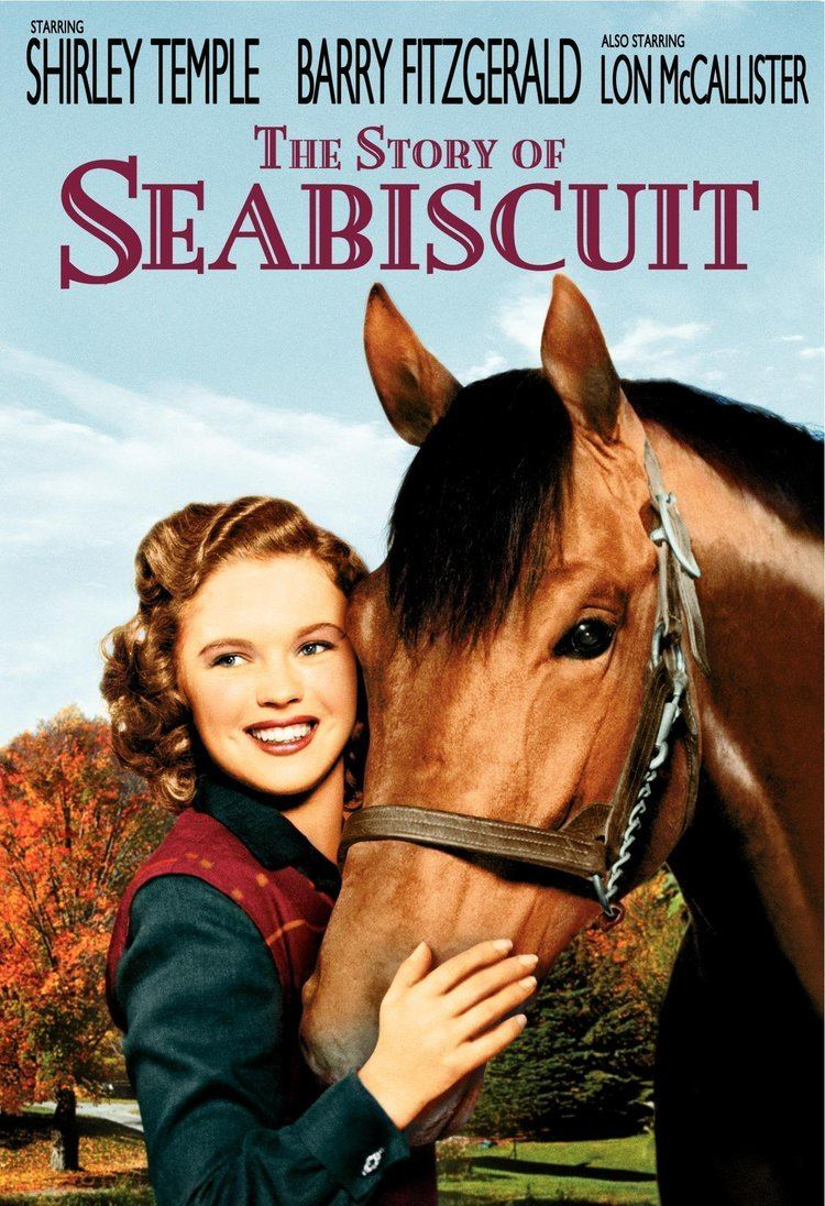 The Story of Seabiscuit Amazoncom The Story of Seabiscuit Shirley Temple Barry