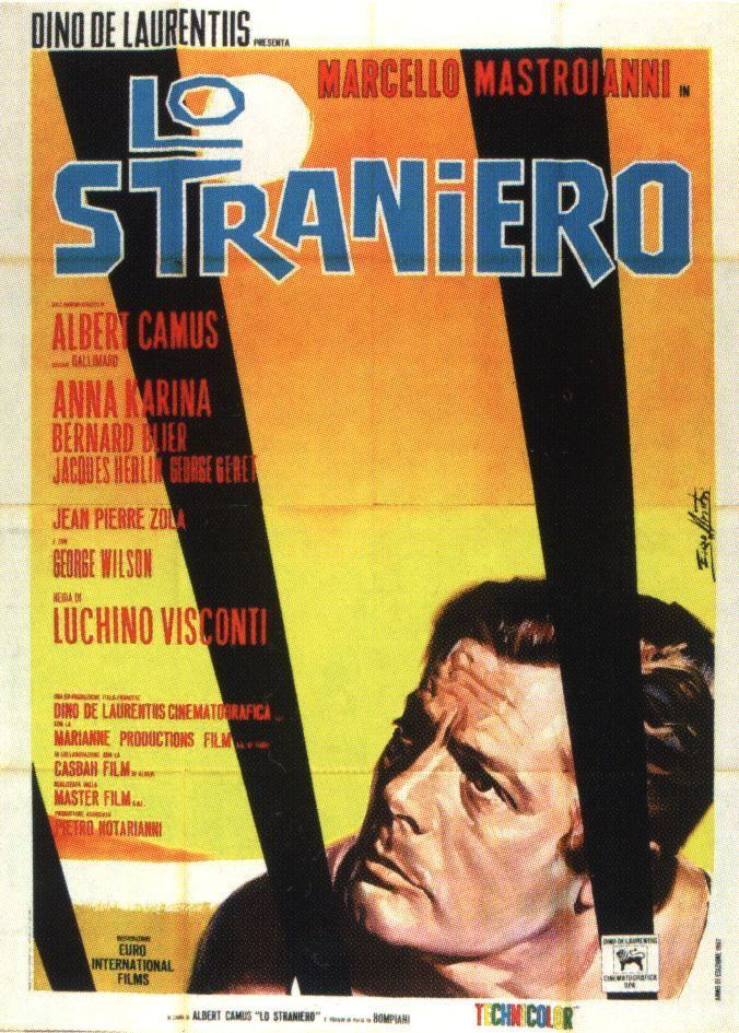 The Stranger (1967 film) Lo Straniero The Stranger ItalyFrance 1967 directed by Luchino