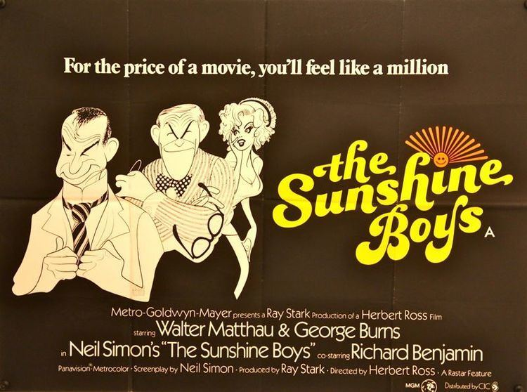 The Sunshine Boys (1975 film) The Trunk Movie Club The Sunshine Boys KRUI Radio