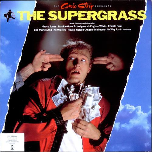 The Supergrass The Comic Strip The Supergrass Soundtrack UK vinyl LP album LP