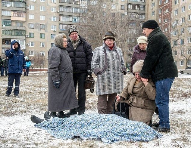 The Surprise of a Knight movie scenes Horror Relatives of a victim killed by shelling in the eastern Ukrainian city of Kramotorsk