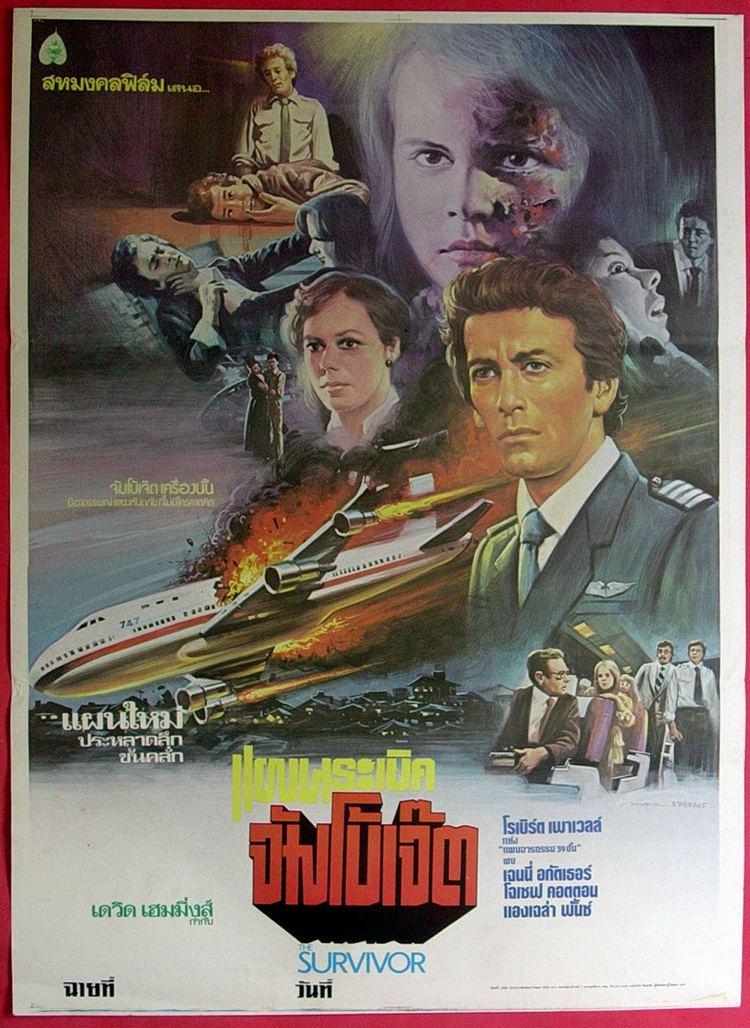 The Survivor (1981 film) The SURVIVOR 1981 Robert Powell Thai Movie Poster Original eBay