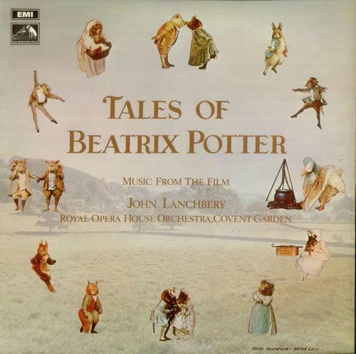 The Tales of Beatrix Potter Original Soundtrack Tales Of Beatrix Potter insert UK vinyl LP