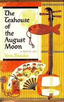 The Teahouse of the August Moon (novel) httpsuploadwikimediaorgwikipediaenthumbe