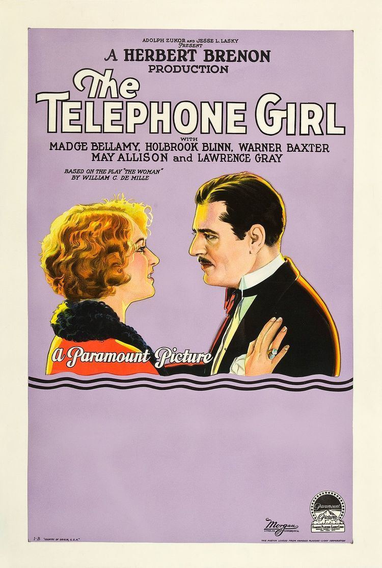 The Telephone Girl 1927 film Wikipedia