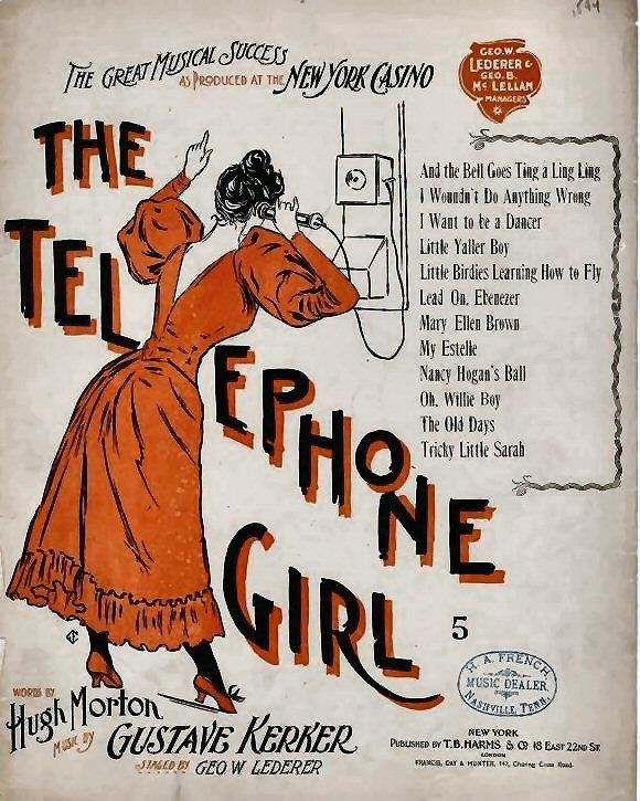 The Telephone Girl Wikipedia