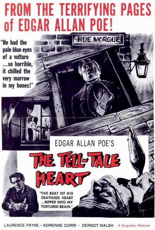 The Tell-Tale Heart (1960 film) The TellTale Heart Movie Posters From Movie Poster Shop