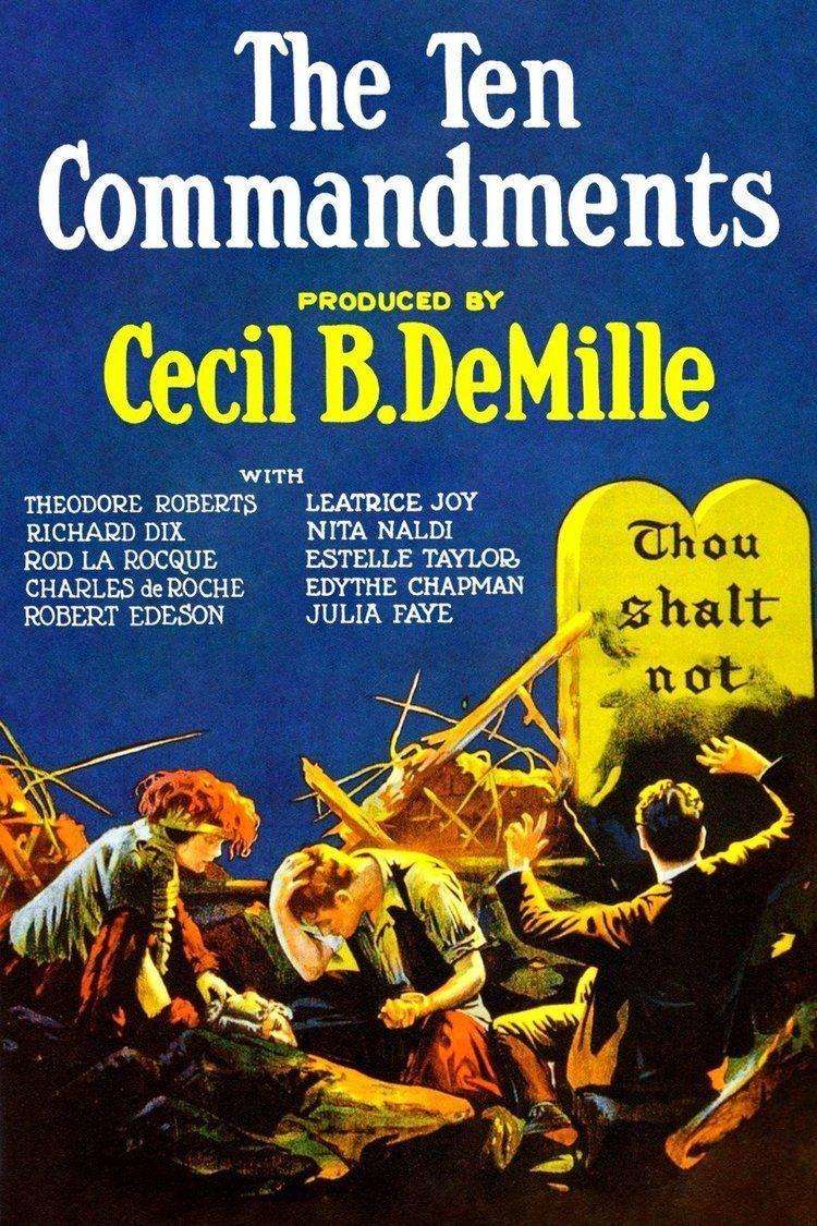 The Ten Commandments (1923 film) wwwgstaticcomtvthumbmovieposters56031p56031