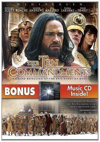 The Ten Commandments (2007 film) Amazoncom The Ten Commandments with Bonus CD Sacred Classics
