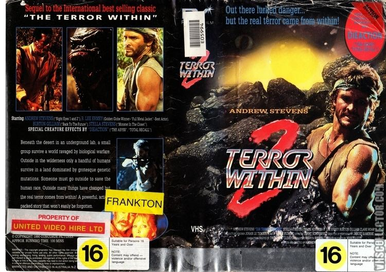 Terror Within 2 VHSCollectorcom Your Analog Videotape Archive