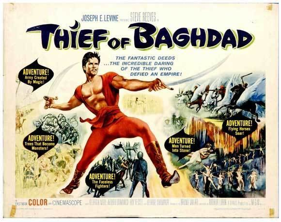 The Thief of Baghdad (1961 film) The Thief of Baghdad Movie Posters From Movie Poster Shop