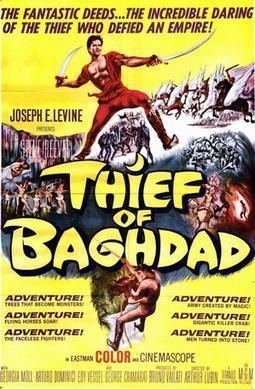 The Thief of Baghdad (1961 film) The Thief of Baghdad 1961 film Wikipedia