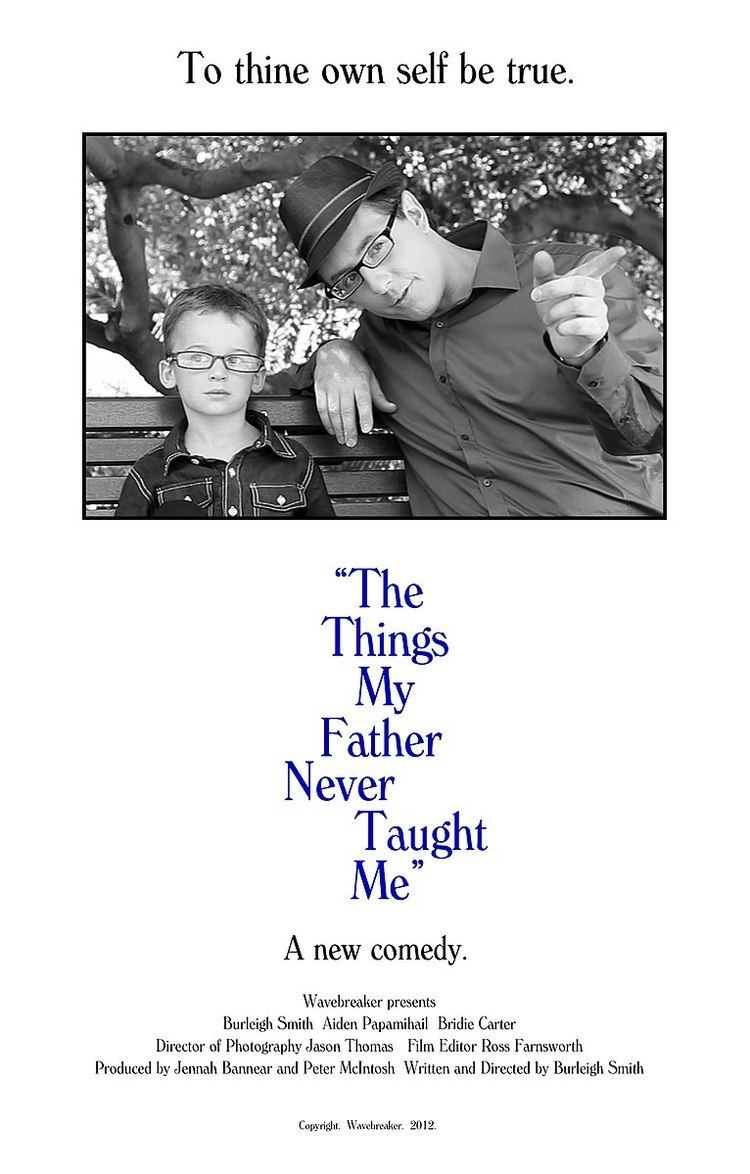 The Things My Father Never Taught Me movie poster