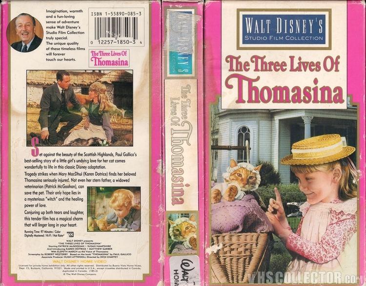 The Three Lives of Thomasina The Three Lives Of Thomasina VHSCollectorcom Your Analog