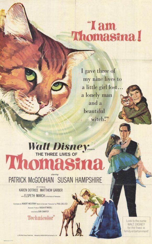 The Three Lives of Thomasina The Three Lives of Thomasina Movie Posters From Movie Poster Shop