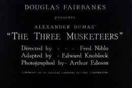 The Three Musketeers (1921 film) The Three Musketeers 1921 film WikiVisually