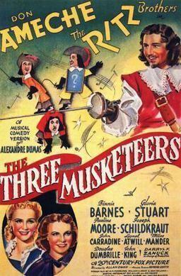 The Three Musketeers 1939 film Wikipedia